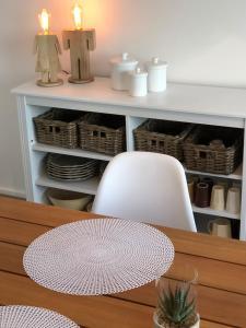A kitchen or kitchenette at Résidence le Châtelet