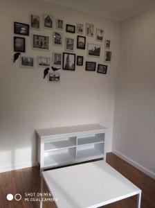 A bed or beds in a room at brand new one bedroom house with Aircondition
