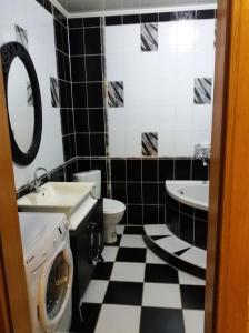 Ванна кімната в 3-к квартира