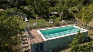 A view of the pool at Casa Margaret or nearby