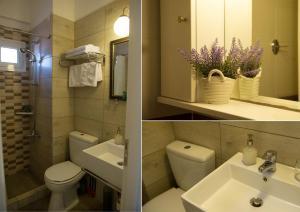 A bathroom at Mirella Studios
