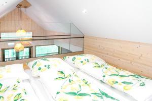Ein Bett oder Betten in einem Zimmer der Unterkunft Auszeit beim Oswald