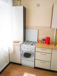 Кухня или мини-кухня в Apartment On Moskovsky Prospekt