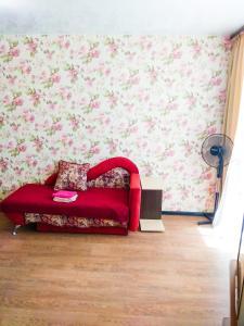 Гостиная зона в Apartment On Moskovsky Prospekt