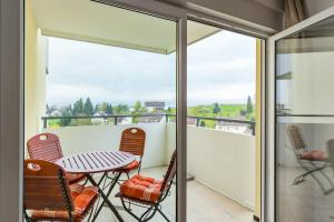 En balkong eller terrass på Ferienwohnung Alex