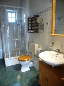Ένα μπάνιο στο Ferienhaus Henriettenhof