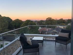 Balkon ili terasa u objektu Benalong Apartment - at Gladesville