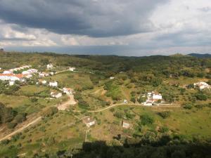 A bird's-eye view of casa do castelo