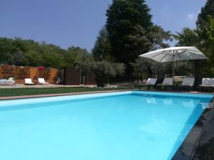 The swimming pool at or near Quinta do Guerra