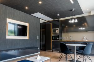 A kitchen or kitchenette at Zala Springs Golf Resort