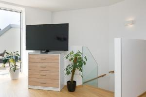 A television and/or entertainment center at Yourapartment Ruepp