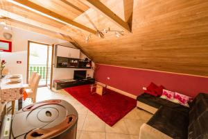 The fitness center and/or fitness facilities at Apartma Zoran