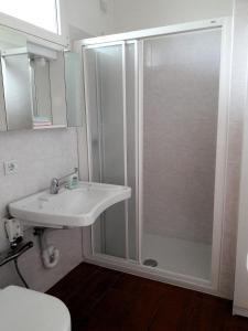 A bathroom at Bruna & Bepi House - Room 1