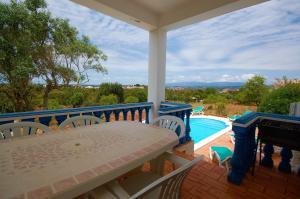 A balcony or terrace at Algarve Casa da Eira