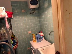 A bathroom at Casa Alberto