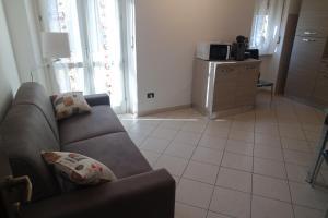 A seating area at Appartamento a 100 metri da Piazza della Repubblica