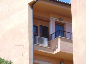 A balcony or terrace at appartement andraxt mallorca