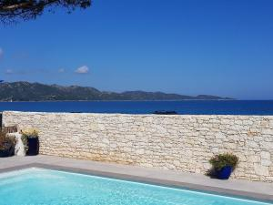 The swimming pool at or near Appart Bleu Azur