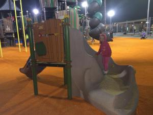 Children's play area at Ashdod Suites - Hatayelet Suites