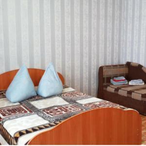 Кровать или кровати в номере Дуванский бульвар 23