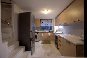A kitchen or kitchenette at Villa Elea