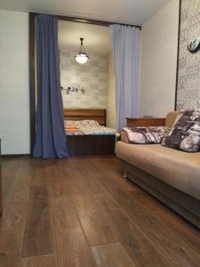 "Гостиная зона в Apartments in ""Botanicheskyi Sad"""