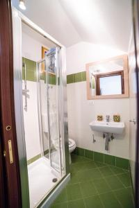 Koupelna v ubytování Le Terme Romane Apartments