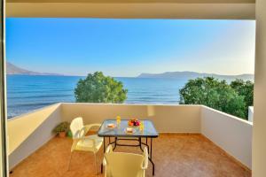 A balcony or terrace at Beach House