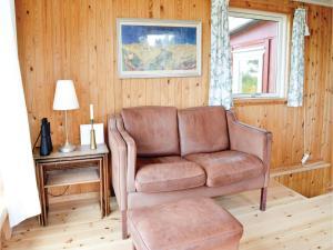 Et opholdsområde på One-Bedroom Holiday Home in Jagerspris