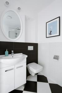 A bathroom at smartApart- Apartments Center