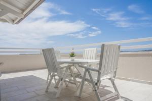 A balcony or terrace at Attico Saker