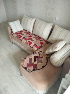 Кровать или кровати в номере Апартаменты Amur University Apartments