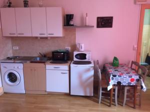 Cuisine ou kitchenette dans l'établissement Residence Le Continental