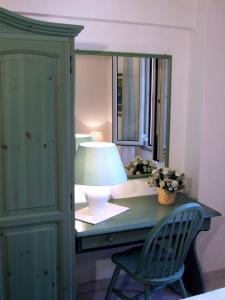 Letto o letti in una camera di Villa Mica