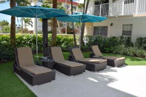 The swimming pool at or near Ocean Vacation Homes
