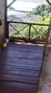 A balcony or terrace at La Maison Maurice