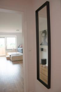 Postelja oz. postelje v sobi nastanitve Studio Apartment No.37