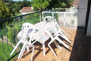 Balkon lub taras w obiekcie Sauvage