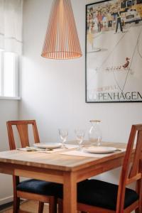 Restaurace v ubytování Gränna Lakeview