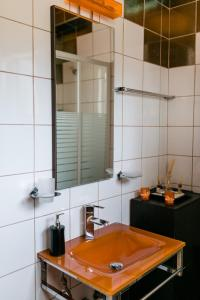 A bathroom at Villa Polina
