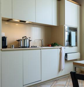 Dapur atau dapur kecil di Residenza Ascanio Sforza