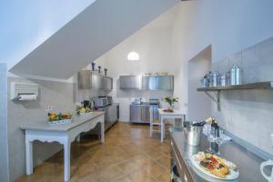Cucina o angolo cottura di villa virginia