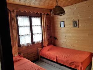 Un ou plusieurs lits dans un hébergement de l'établissement les Gentianes 29D