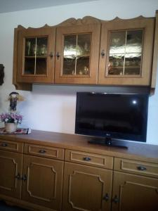 A television and/or entertainment center at Apartment Edelweiss