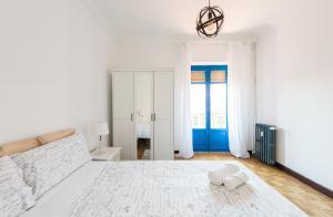 A bed or beds in a room at Apartamento Fajardo