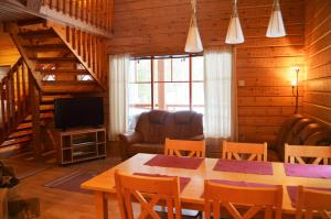 A seating area at Holiday Village Himmerki