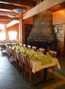 A restaurant or other place to eat at Holiday Village Himmerki