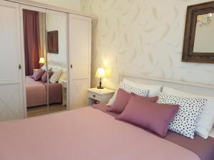 Letto o letti in una camera di Apartments Iris