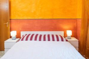 Letto o letti in una camera di Villa Mattarana - Moderno Appartamento Piano Terra