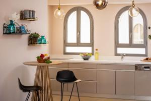 A kitchen or kitchenette at Sweet Inn - Harav Kook 7